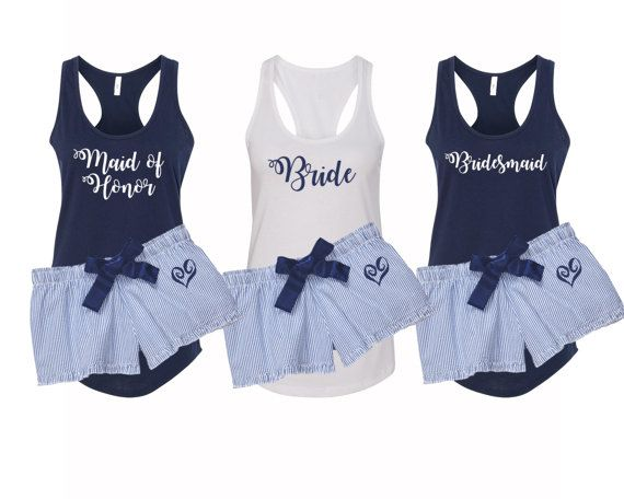 774a423ee2 Bridal Party Pajamas