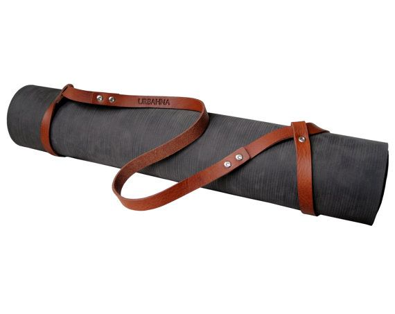 Yoga Mat Strap | Leather, Yoga and Love