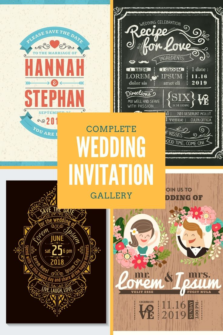 Models And Design Of Wedding Invitation Cards Wedding Invitation