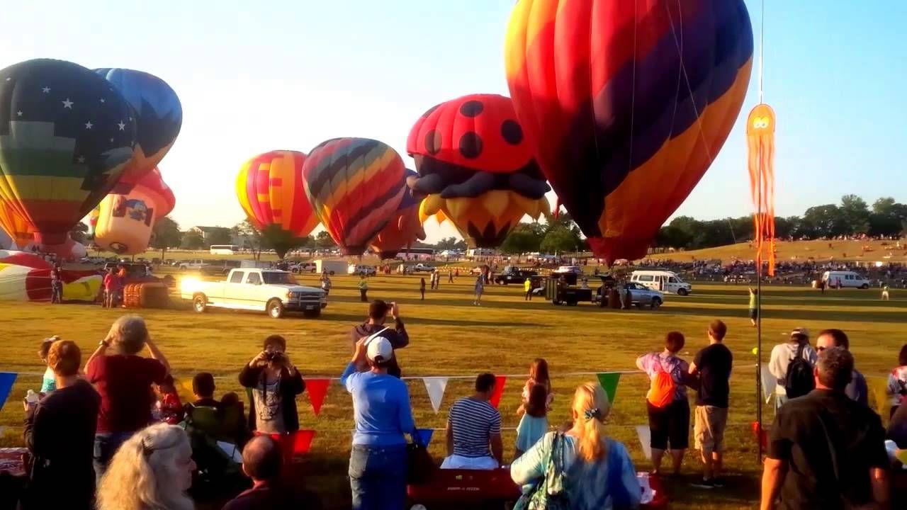 Plano Balloon Festival 2014 Balloon festivals, Festival