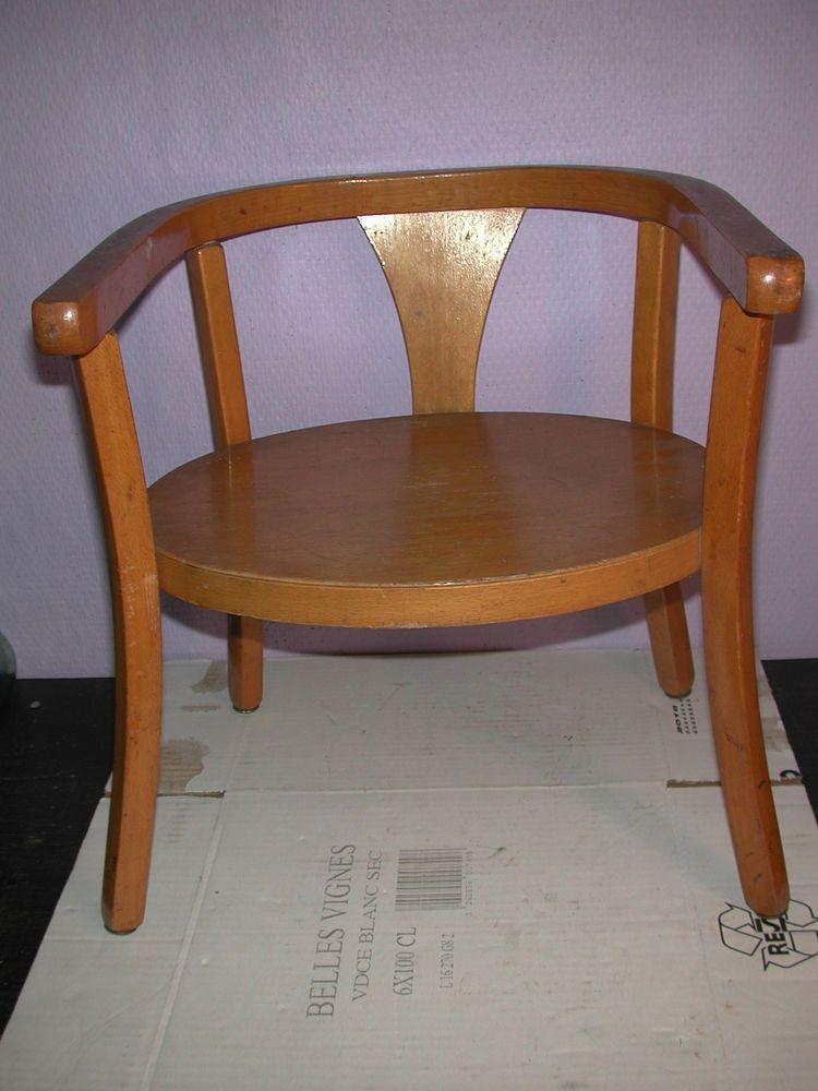 fauteuil ancien d 039 enfant en bois