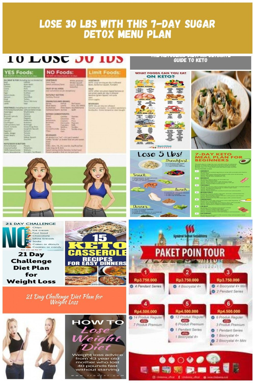 7 Day Sugar Detox Plan. A great way to embark on a healthy diet. These awesome diet tips are great for weight loss and will help your body detox from sugar. Includes 7 day healthy meal plan. #detoxtips  #healthydiet #diettips #fitness #womensfitness diet plan indonesia Lose 30 lbs with This 7-Day Sugar Detox Menu Plan #sugardetoxplan