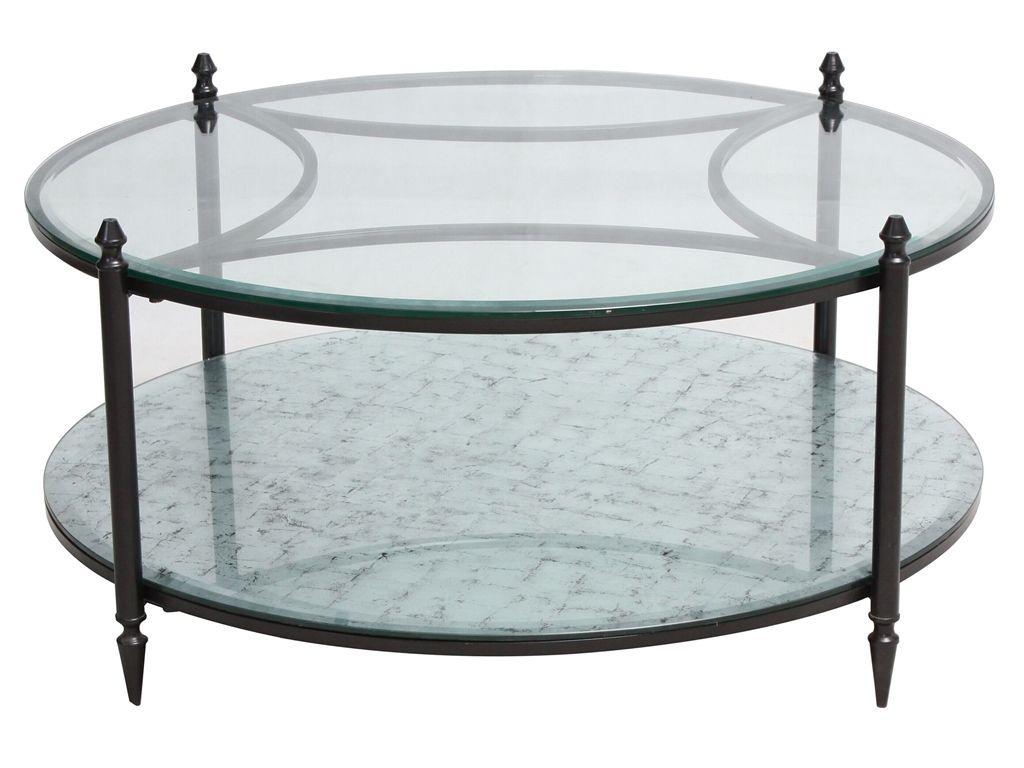 Shadow Box Round Mirrored Coffee Table (http://www.zinhome.com