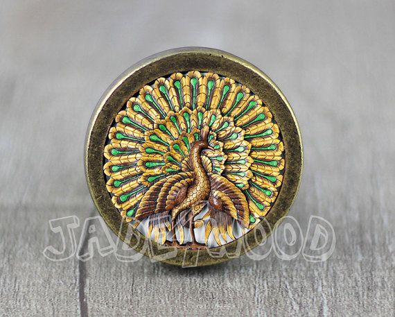 Thailand Wood Carving Design Handmade Vintage Bronze door jade4wood