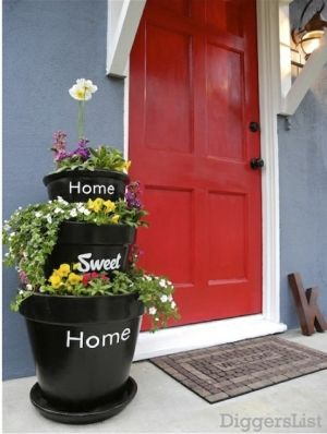 Front Porch Planter By Tatia Bascio Crafts Pinterest Front