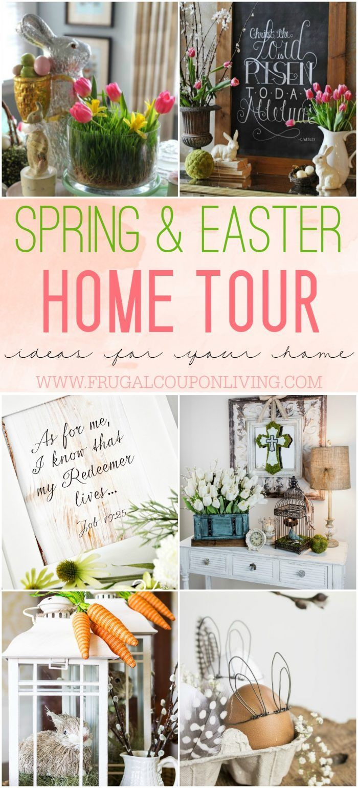 Spring Easter Home Decor Ideas Prazdnik