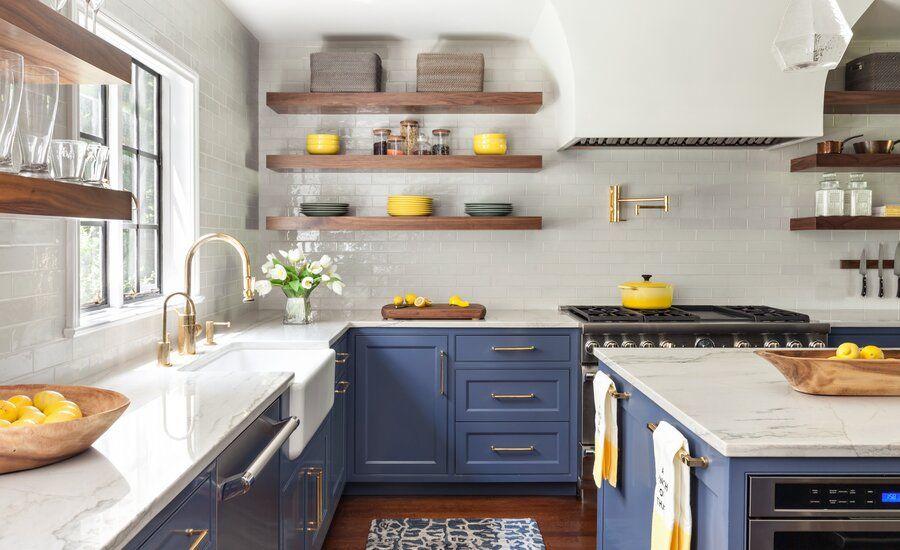 Lombardia Pull Down Kitchen Faucet Blue Kitchen Designs Kitchen Remodel Kitchen Design