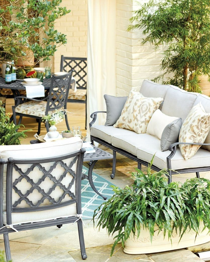 Ballard Designs Patio Furniture.25 Dreamy Patios Pools And Porches Outdoor Project Classic