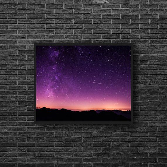 Photo of Starry Sky Photography Shooting Star Photo Stars | Etsy