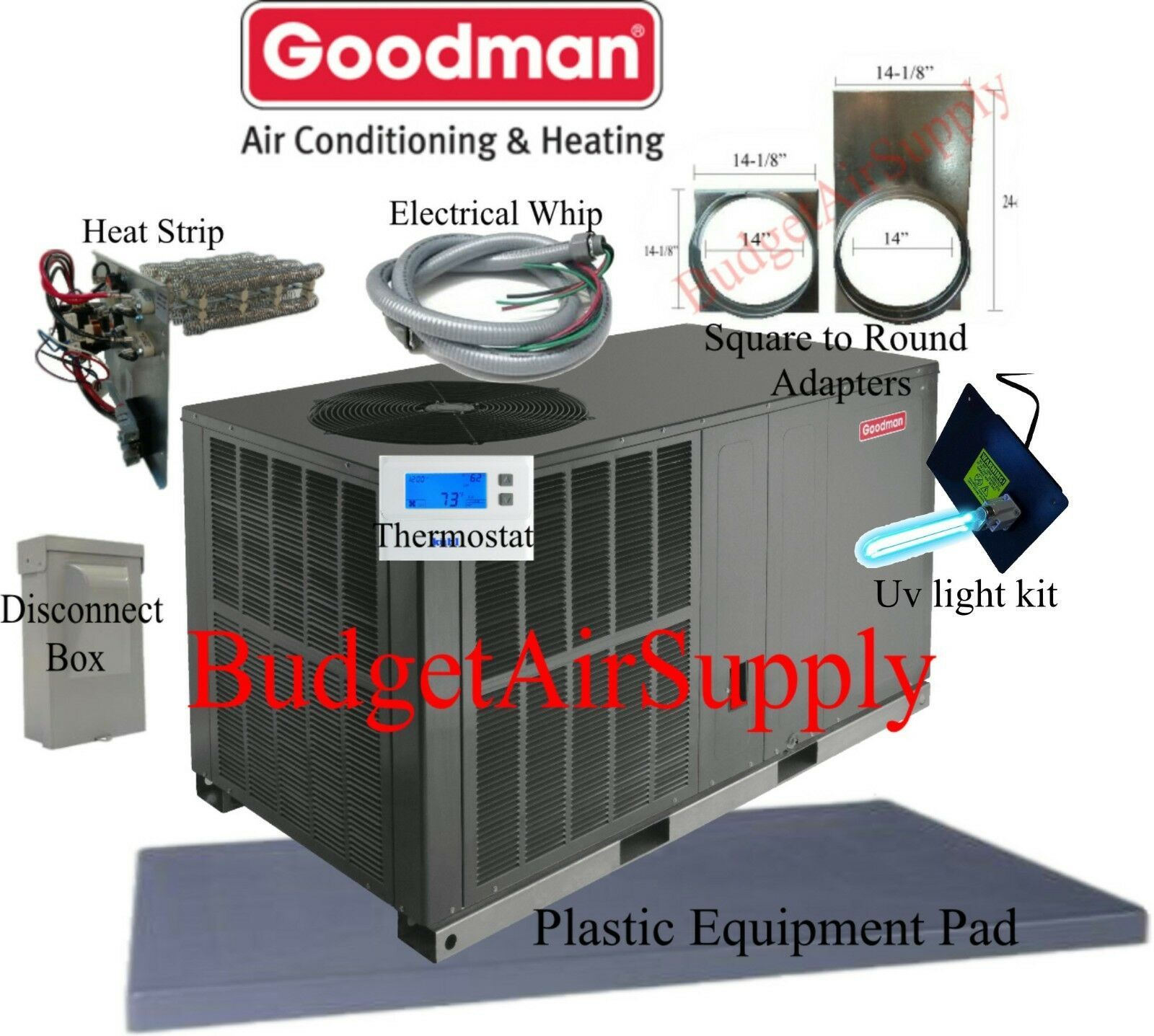 3 Ton Heat Pump The Unit Heat Pump Packaging