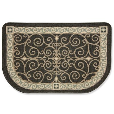 Bacova Eastly Midnight 22-Inch x 35-Inch Kitchen Rug ...