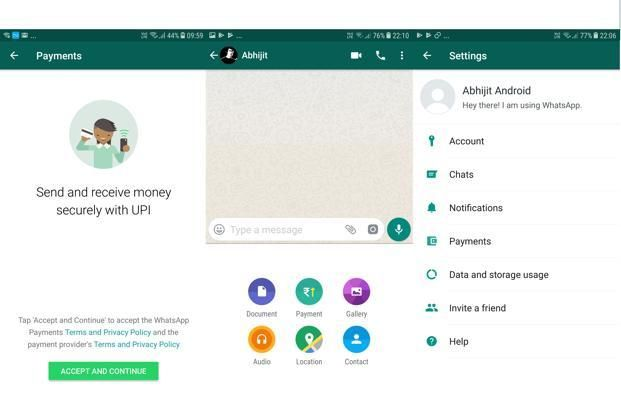 WhatsApp isn't the first messenger app to integrate UPI