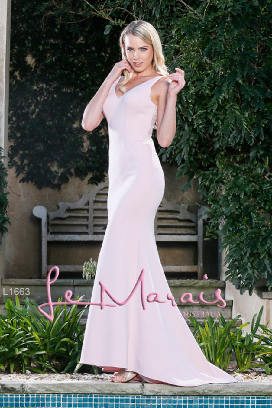 Tinaholy couture le marais l pink rose tea mermaid formal gown