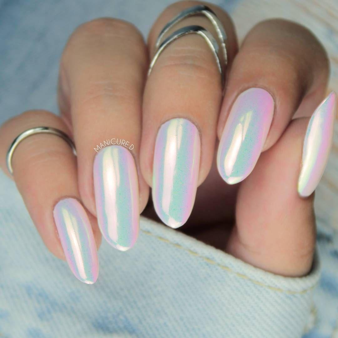 Born Pretty stunning unicorn powder nail art design review from ...