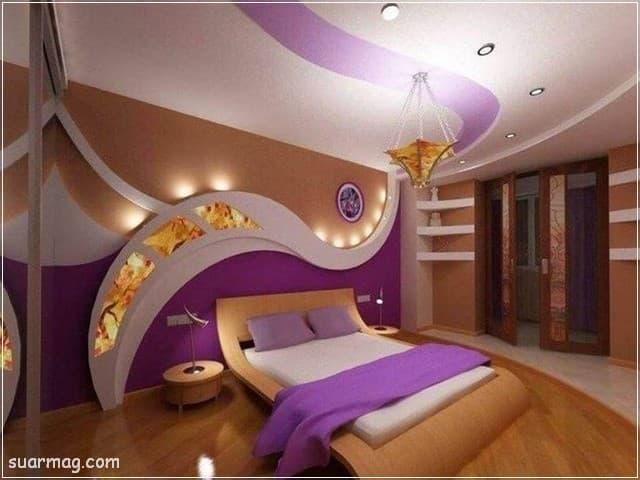 اجمل ديكورات جبس بورد غرف نوم 2020 مودرن Bedroom Design Modern Bedroom Design Bedroom Bed Design