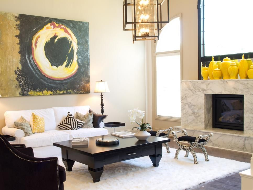 Try These Now Winter's Hottest Color Trends  Yellow Vase Captivating Mustard Dining Room Decorating Design