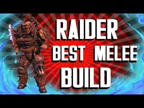 Fallout 4 Builds - The Raider - Best Melee Build - YouTube