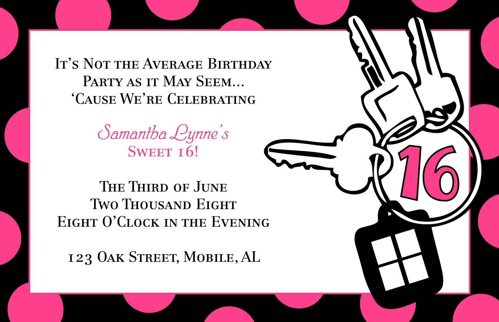 Teen birthday invitation templates it in style birthday teen birthday invitation templates it in style birthday adult filmwisefo Choice Image