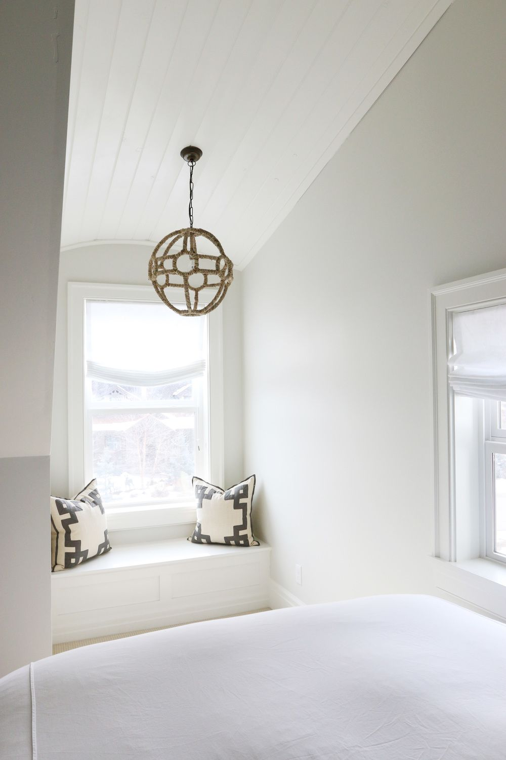 The Midway House Classic Gray Guest Bedroom Studio