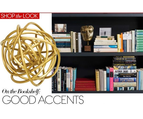 Spray painting multiple home decor accents is a super fast way to bring a room together.  Gold is definitely a timeless choice!