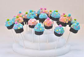 Cupcake Bakepops