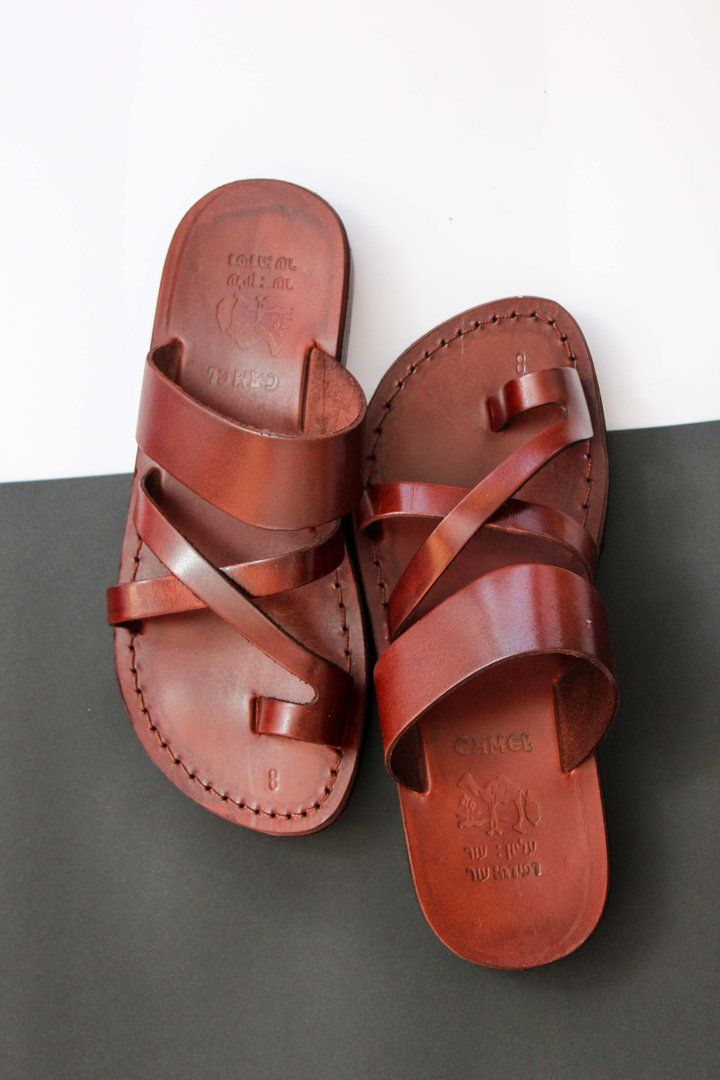 FLIPFLOP JESUS Leather Sandals for women   is part of Sandals - RING TOE FLIP FLOP sandals made by leather upper layer , leather bottom layer and rubber sole  Free Shipping Sandals world wide   Made from genuine caw skin  The best fit and have a good cut and finish  The sole is made from rubber , will not slip at all  No trash leather or fibers are founded   Fresh and thick leather
