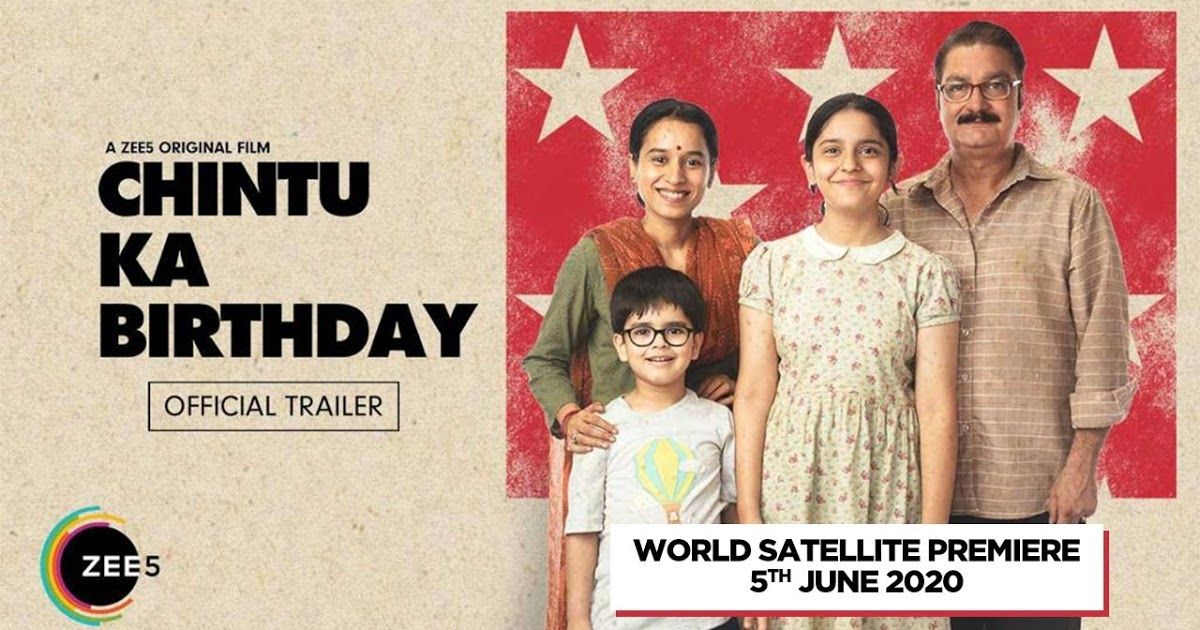 Chintu ka birthday movie trailer cast and release date