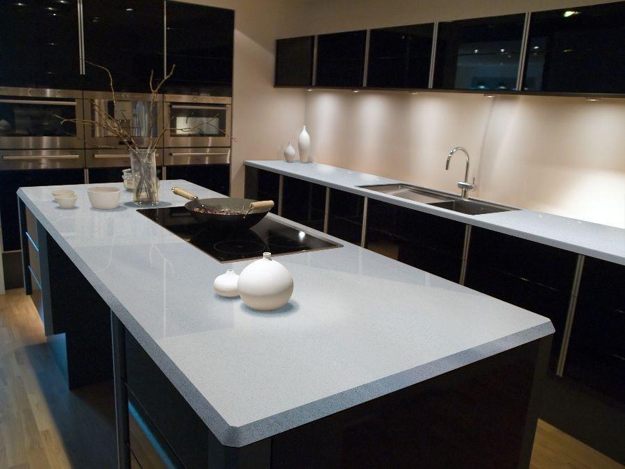 Best Sparkling White Q Premium Natural Quartz Countertop With 400 x 300