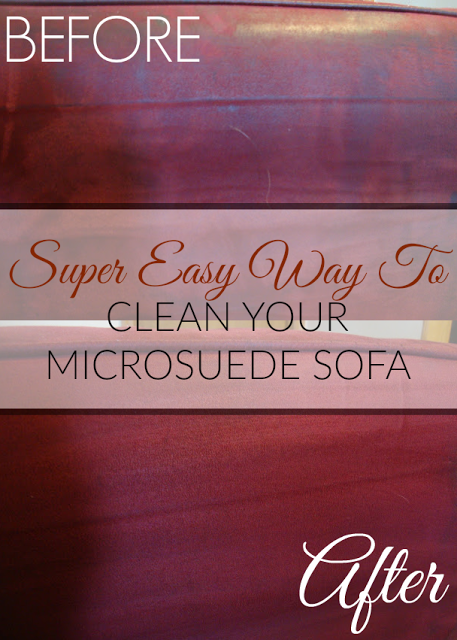 For under $1 (yes, I'm serious), you can clean your microfiber/microsuede sofas. It's super easy and all it takes is two ingredients and a little elbow grease. #Cleaning #HouseCleaning #UpholsteryCleaning #CleanUpholstery #CouchCleaning #SofaCleaning #CleanSofas #CleachCouches #MicrofiberSofa #MicrofiberCouch #Microsuede #Microfiber #MicrosuedeCouch #CleanMicrosuede #CleanMicrofiber