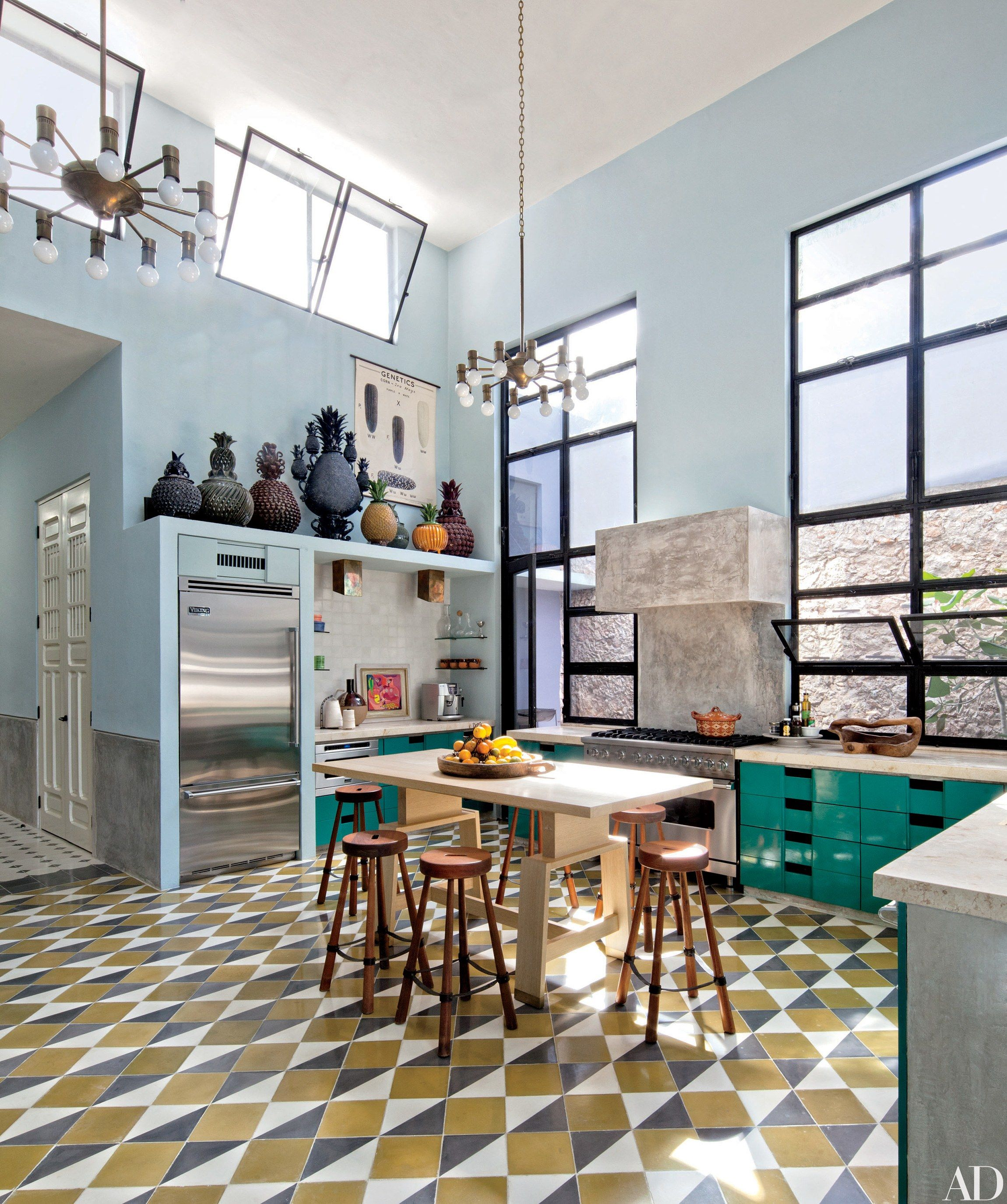 kitchens with plenty of natural light ceramics the oujays and