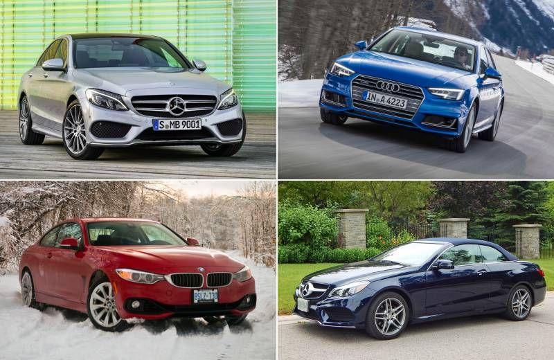 Best-selling luxury cars of 2015