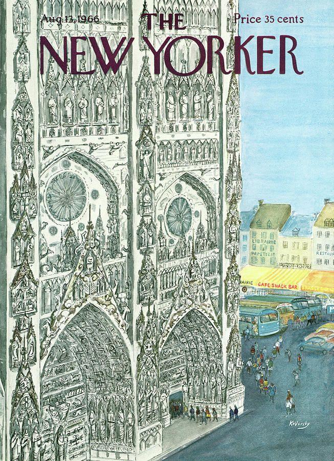 New Yorker August 13th, 1966 en 2020 Illustration, Jean