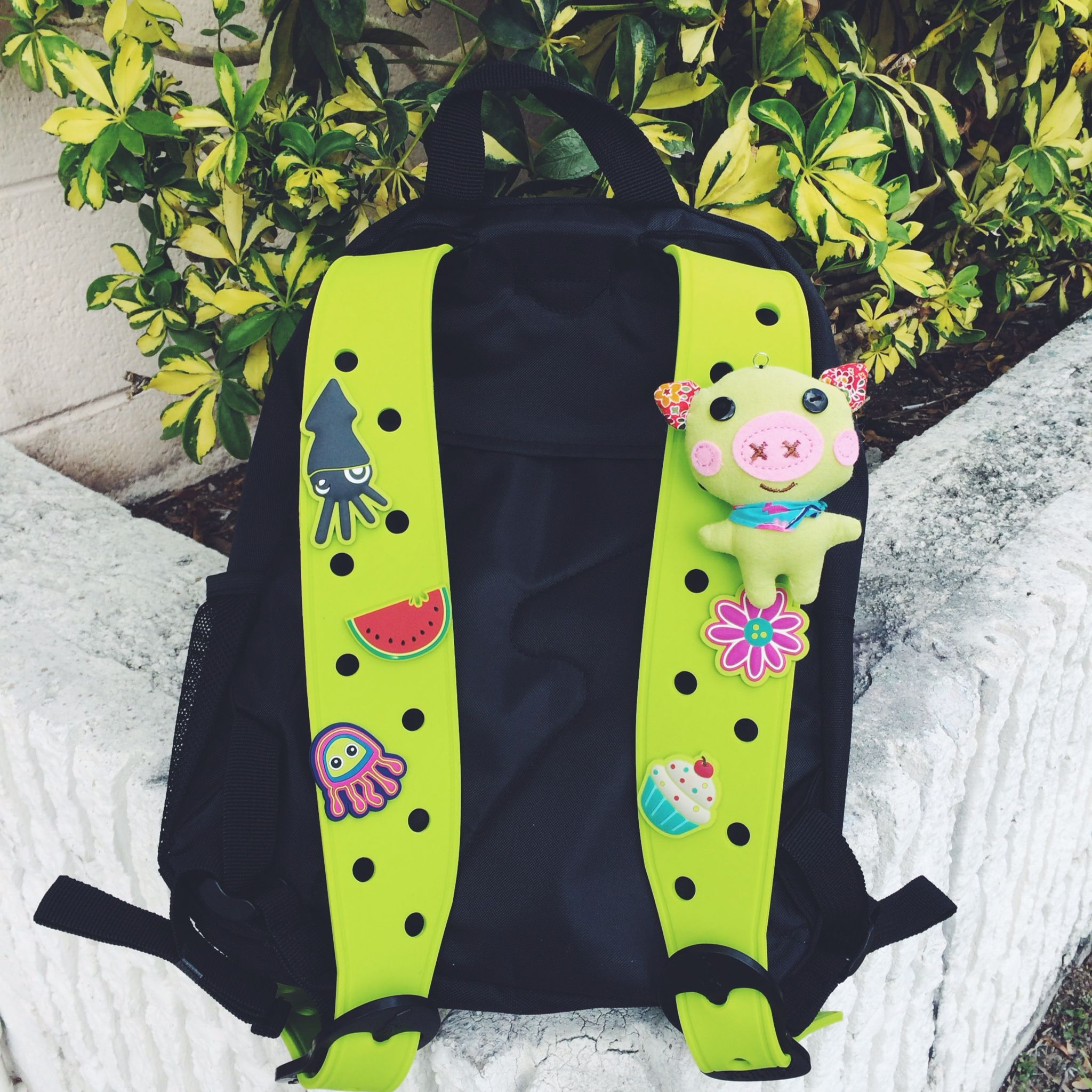 St.Patrick's ready with your SquidPack! #squidpacks #backpack #pinterest #school #stpatricksday #customizable #green