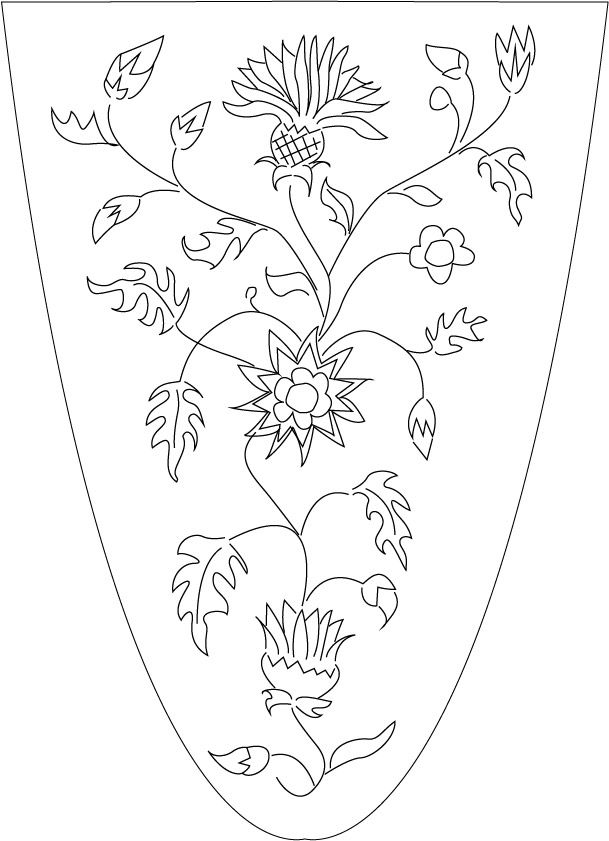 Capa de tesourinha | dibujos castellanos | Pinterest | Bordado ...