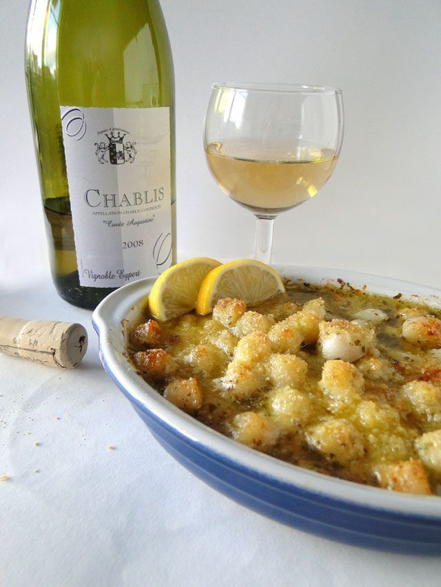 Tbsp Cuisine | Recipe Baked Scallop Gratin Ingredients 2 Tbsp Olive Oil 1 Lb
