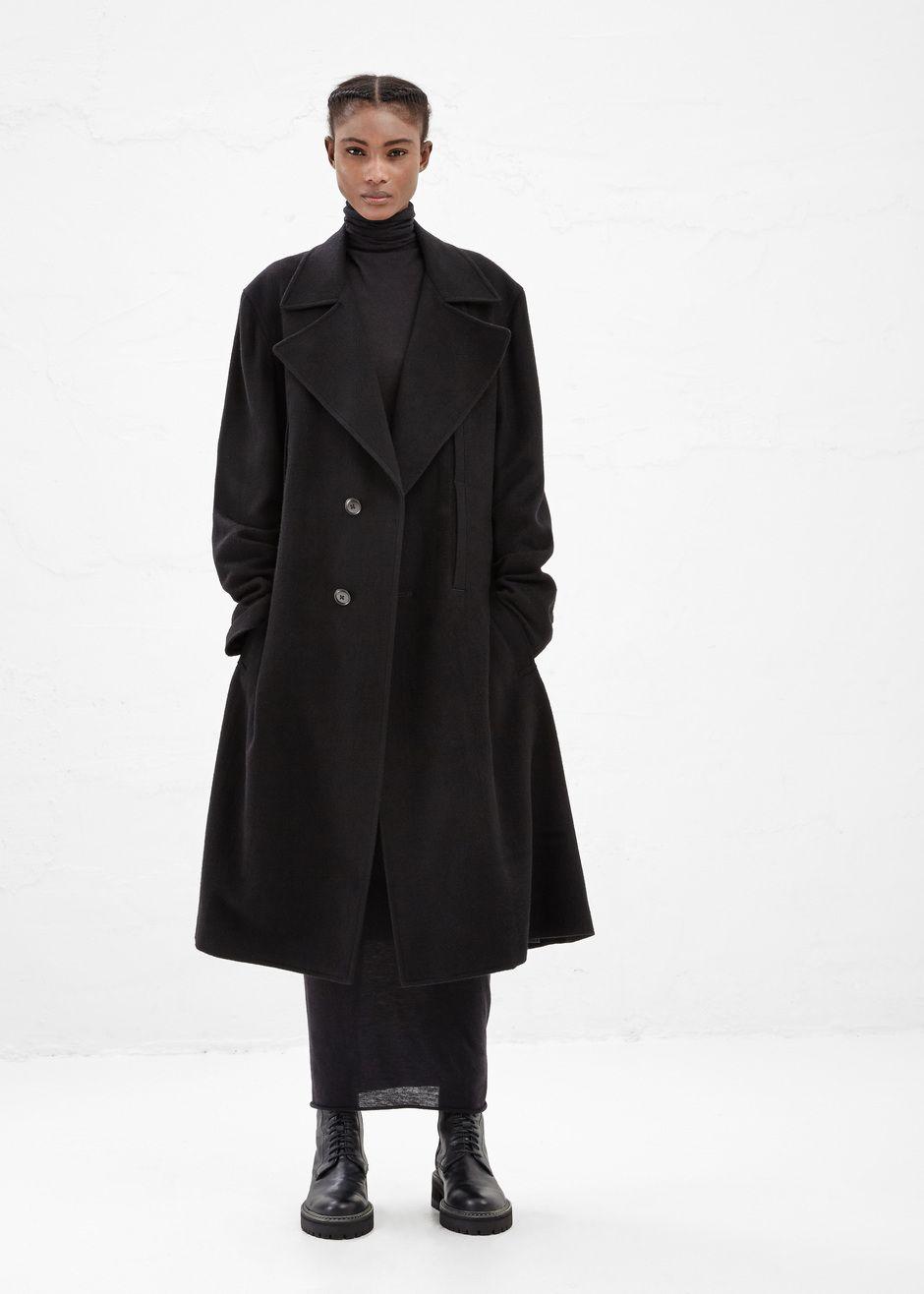 Rick owens lilies fitted turtleneck dress black nova couture