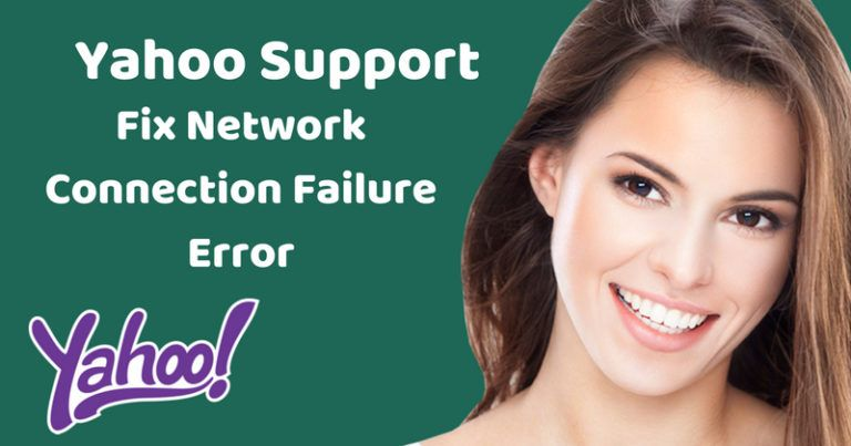 """How to fix connection failure"""" error in Yahoo on"""