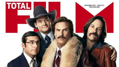 Total Film's Anchorman 2: The Legend Continues.... I CAN'T WAIT!!!!
