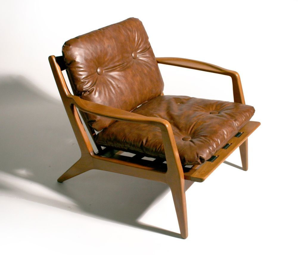 Details About Pair Of Mid Century Danish Modern Poul