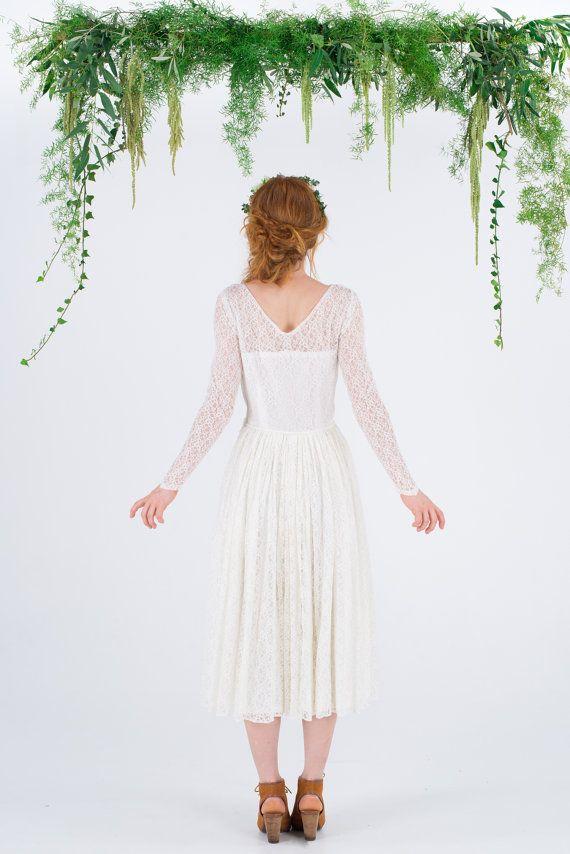MERRIN 1950\'s vintage lace wedding dress by MaggieMayBridal ...