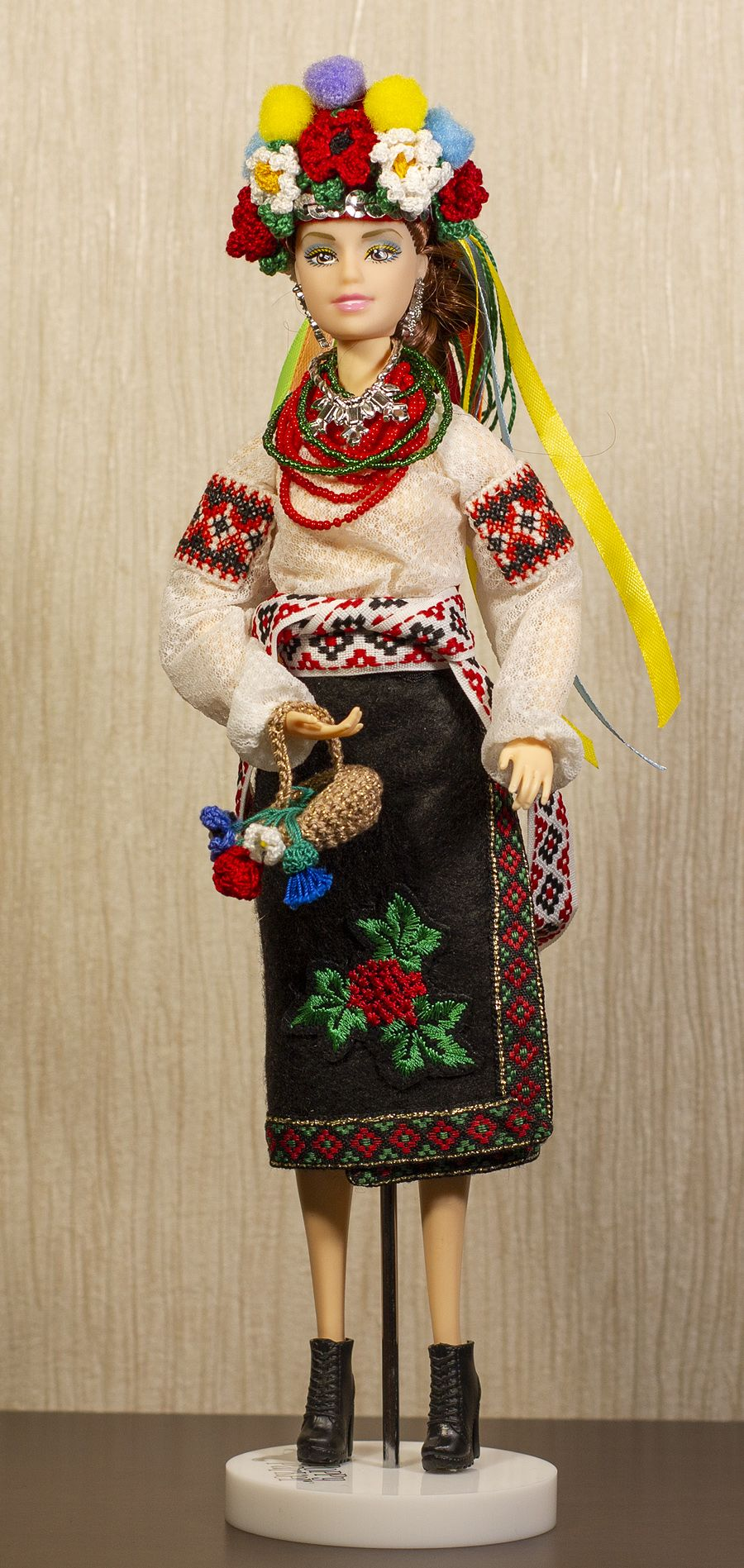 Ukrainian doll #historicaldollclothes