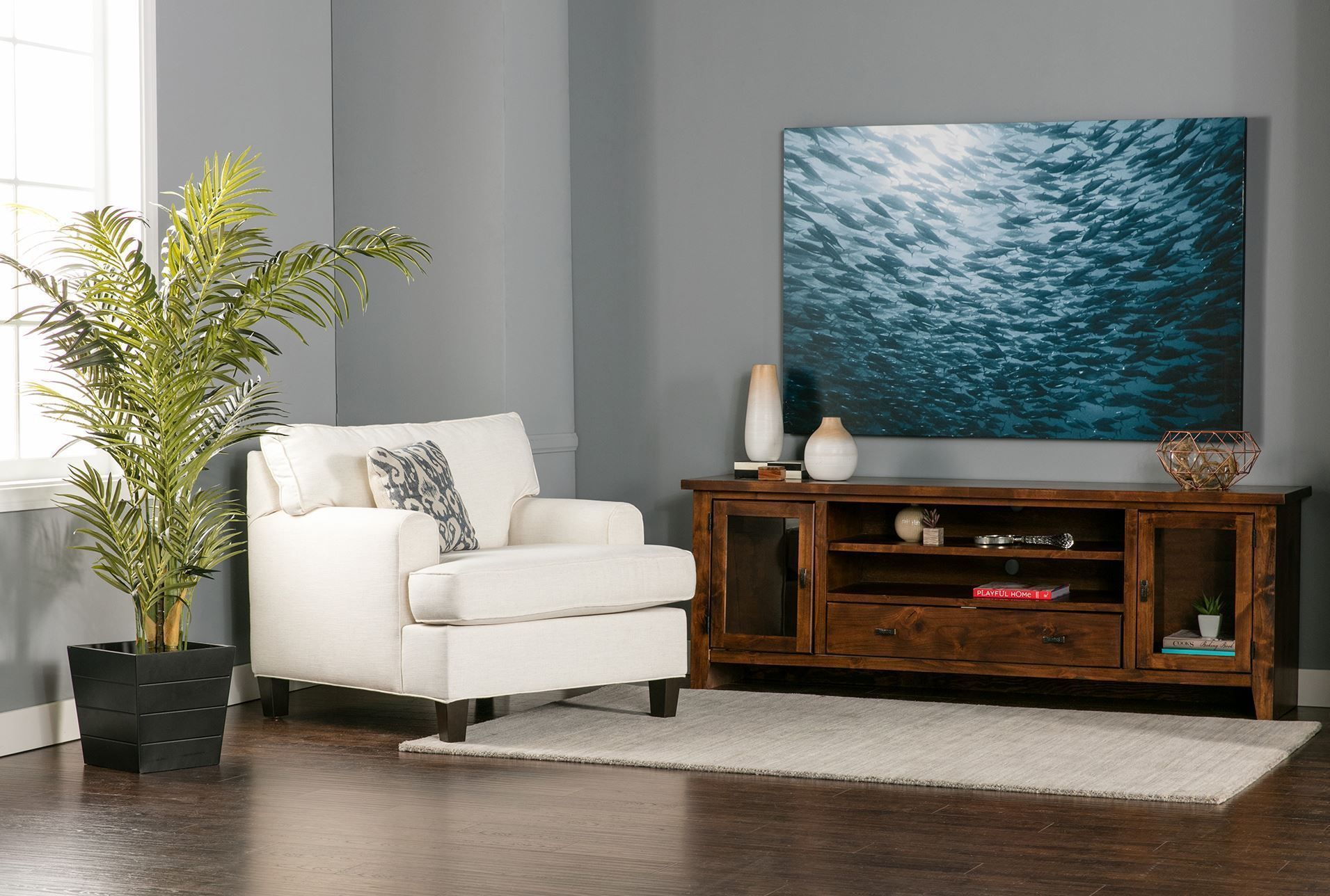 Genial Trent 76 Inch Tv Console   Living Spaces