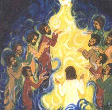 Jesus breathed on his disciples. A holy infection of grace (With ...