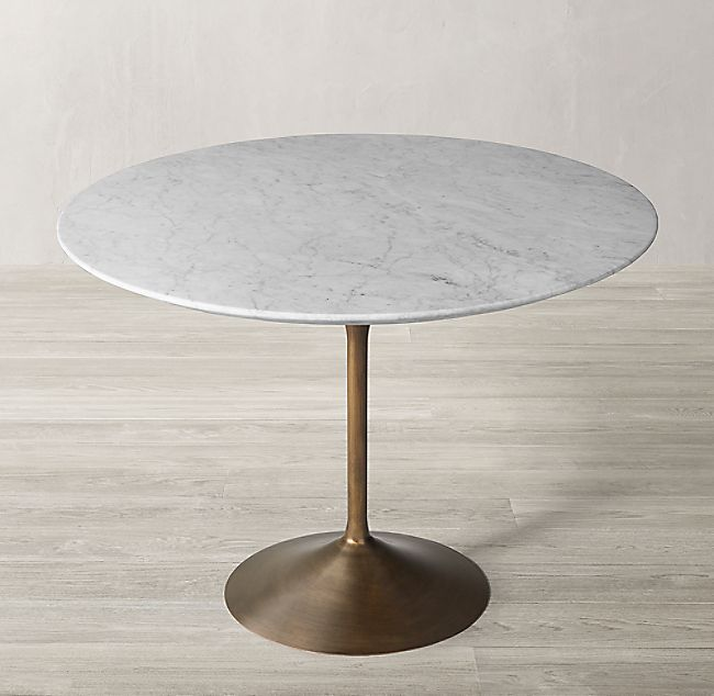 Aero Marble Round Dining Table Dining Table Round Marble Dining