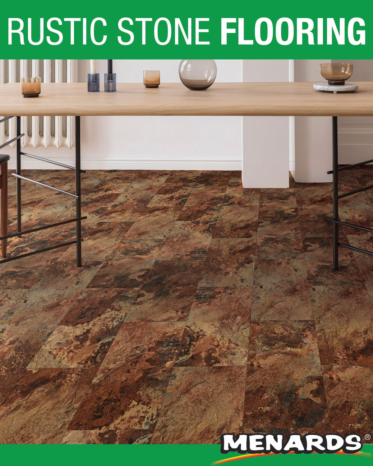 Great Lakes Floors Quest Vinyl Plank Flooring Is An Extremely Dense And Durable Product That Is Perfect For An Rustic Stone Stone Flooring Vinyl Plank Flooring