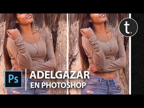 Adelgazar con photoshop youtube