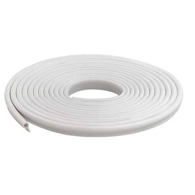 M D Building Products 1 2 In X 17 Ft White Vinyl Gasket Weatherstrip 78394 The Home Depot M D Building Products White Vinyl Vinyl Doors