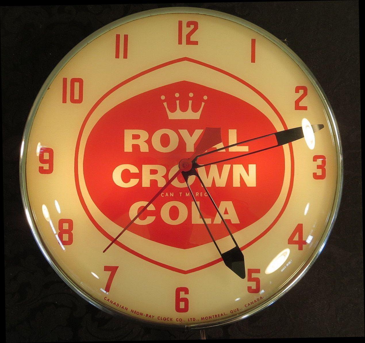 Royal Crown Cola Tin Metal Sign Decor Pop Soda Round Kitchen New