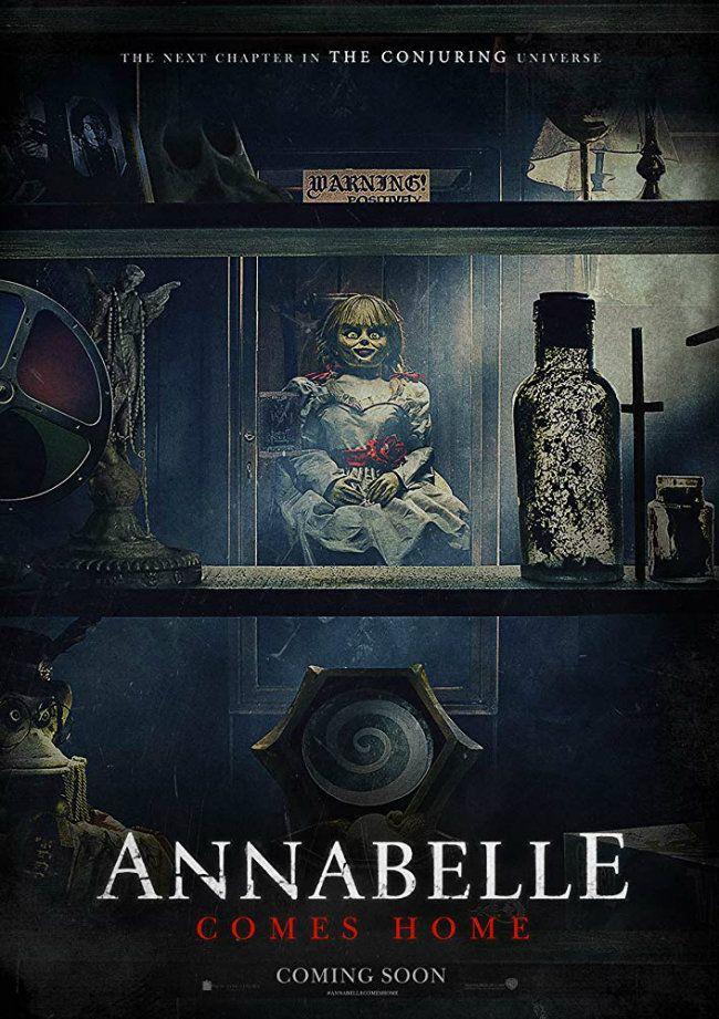 Annabelle 3 Annabelle Comes Home (2019) Türkçe Dublaj