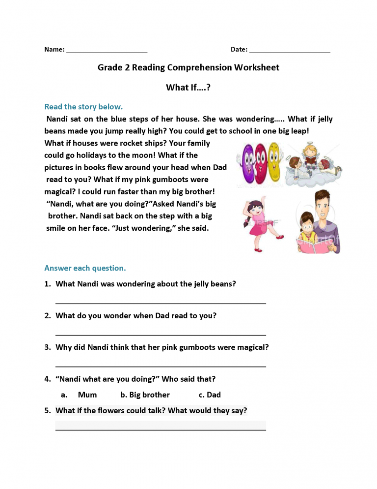 2nd Grade Reading Worksheets - Best Coloring Pages For Kids Reading  Comprehension Worksheets, 2nd Grade Reading Worksheets, Reading  Comprehension